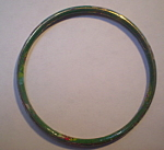 Dark Green Bangle Bracelet