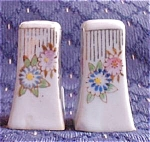 Small Flower Salt And Pepper
