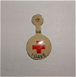 Red Cross Lapel Pin