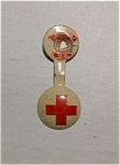 Red Cross Lapel Button