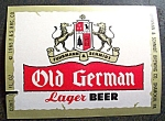 Old German Lager Beer