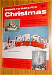 December 1961 Things To Make For Christmas