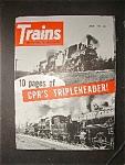 Trains, August 1960