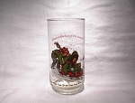 1982 Holly Hobbie Coca-cola Christmas Glass