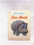 1952 My First Zoo Book/rand Mcnally Andy Cobb