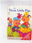1969 The Three Little Pigs Rand Mcnally