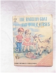 1967 The Raggedy Goat & Other Verses/rand Mcnally
