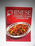 1980 Chinese Cooking Class Cookbook