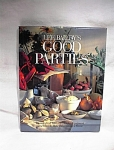 Lee Bailey's Good Parties 1986 Hard Cover Dj