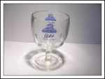 Schlitz Light Beer Footed Glass
