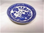 Beautiful Blue Willow Saucer Stamped Japan