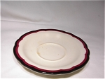 Buffalo China Saucer Scalloped Edge