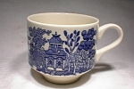 Churchill Blue Willow Large Cup