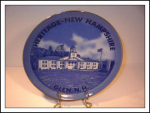 The Heritage New Hampshire Collectible Plate Japan