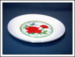 Jasco The Regal Rose Porcelain Plate Japan