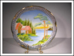 Artmark Handpainted Originals Japan Plate