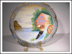 Artmark Handpainted Originals Plate Japan
