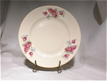 Homer Laughlin Rose Pattern Plate