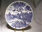 English Village Luncheon Plate-japan