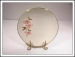 Knowles Pink Dogwood Sm. Plate