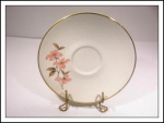 Knowles Pink Dogwood Saucer