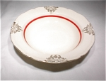 Edwin M.knowles Soup-gold & Red Trim