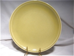 Paden City Pottery Greenbriar Chartreuse Luncheon Plate