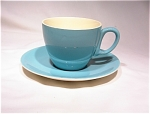 Biscayne By Paden City Pottery Cup/saucer