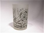 Colonial Homestead Frosted Juice Glass/ha Royal China