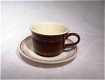 Royal China Nutmeg Cup & Saucer