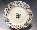 Royal China Sonya Dinner Plate 1950s