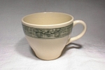 Scio Pottery Currier & Ives Lg Cup