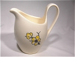 Stetson Creamer/ivory With Yellow Dogwood Flowers
