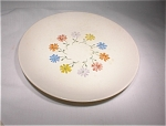 Steubenville B & B Plate Ivory W/multicolored Flowers