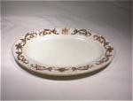 Onondaga Pottery Hotel Schenley Oval Plate