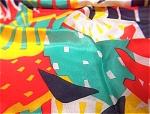 Pure Silk Brightly Colored Kerchief