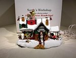Danbury Mint-santa's Workshop-disney-1998