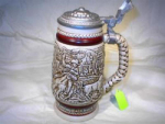 1980 Avon Western Roundup Stein In Original Box