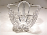 Heavy Crystal Diamondpoint Design Ice Bucket/vase
