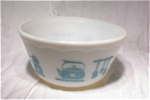 Depression Glass Mixing Bowl/kitchen Decor