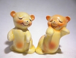 Van Tellingen Bear Hugs Yellow/pink Regal China