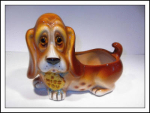 Lefton #h4307 Sad Faced Dog Planter