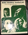 Billie Holiday Anthology Song Book
