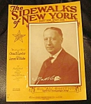 Sidewalks Of New York, Al Smith Sheet Music