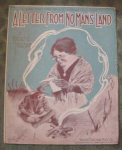Wwi Sheet Music, Letter From No Man's Land