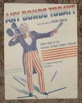 Any Bonds Today Uncle Sam, Berlin Sheet Music