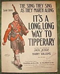 It's A Long Long Way To Tipperary Sheet Music