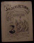 The Soldiers Return Sheet Music, March