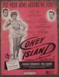 Coney Island Sheet Music, Betty Grable