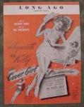 Long Ago, Hayworth & Gene Kelly, Sheet Music